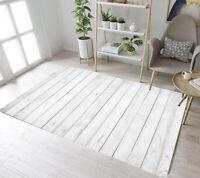 Rustic Wood Board Texture Home Yoga Carpet Floor Mat Living Room Decor Area Rugs