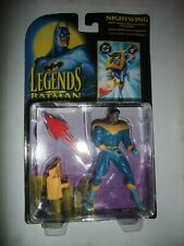 Rare Vintage Legends Batman Nightwing KENNER figure Carded boxed moc