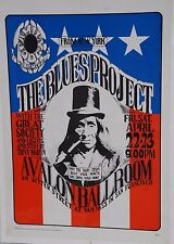 (FD-05) Blues Project, Avalon Ballroom Poster - Great Condition