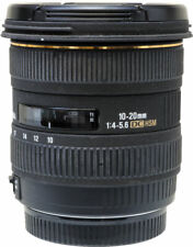 Sigma 10-20mm F4-5.6 DC HSM Lens, Canon AF fitting, Boxed