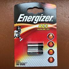 NEUF ENERGIZER A23 Piles Alcalines MN21 LRV08 12 V-Pack de 2 piles