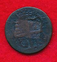 "Great Britain ""No Date"" 1/2 PENNY  (Bronze)"