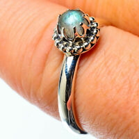 Labradorite 925 Sterling Silver Ring Size 8.25 Ana Co Jewelry R25144F