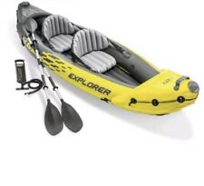Intex Explorer k2 kayak Inflatable With No Oars and Air Pump (2 Person)