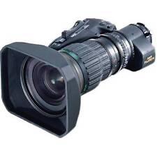 "NEW Fujinon HA18X7.6BERM-M6B 2/3"" Lens w/ Servo Zoom & 2x Ext **Finance w/ AC**"