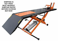 NEW Redline Orange MC1K 1000lb Motorcycle Lift Table WITHOUT Side Extensions