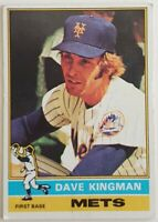 Dave Kingman Topps 1976 MLB Sports Trading Card #40 New York Mets
