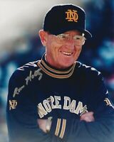 Lou Holtz Autographed Signed 8x10 Photo ( Notre Dame Fighting Irish ) REPRINT