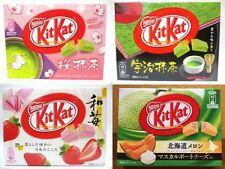 Nestle Kit Kat Chocolate Sakura Green Tea Matcha Strawberry Melon 4 set JAPAN