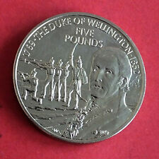 JERSEY 2002 DUKE OF WELLINGTON £5 CROWN
