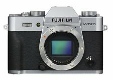 Fujifilm X-T20 24.3MP Digital Camera Body Only Silver *Free Shipping from Japan*