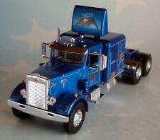 """FIRST GEAR BLUE WESTERN PETERBILT 351 63"""" SLEEPER CAB 60-0439 C"""