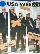 FLEETWOOD MAC is Back! USA Weekend September 2014 Best of  Fall Issue