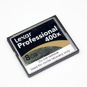 Lexar 8 GB CF Card 400x Professional CompactFlash High Speed Memory Card