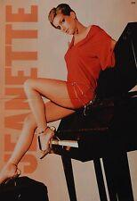 JEANETTE BIEDERMANN - A3 Poster (ca. 42 x 28 cm) - Clippings Fan Sammlung NEU