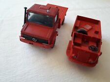 Unimog + Renault 4x4 Pompiers - Solido