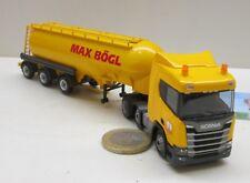 "MB0588:   Scania CR 20,     Zementsilo Sattelzug ""Max Bögl"""