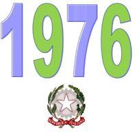 ITALIA Repubblica 1976 Singolo Annata Completa integri MNH ** Tutte le emissioni