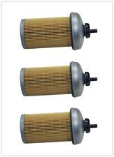 3Pcs For Chevrolet GMC 6.5L Duramax Diesel Fuel Filter and Cap Kit REF#10154635