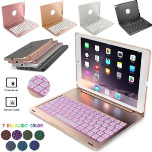 "For iPad 8th/7th/6th/5th Gen 10.2"" Bluetooth Keyboard Case Stand with Backlight"