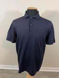Lululemon Mens Polo Navy Blue Golf Size Large