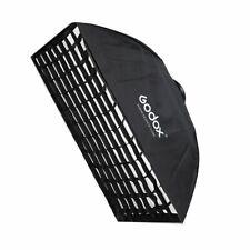 Godox 80x120cm Rechteck Bowens Berg Softbox mit Grid For Studioblitz Strobe