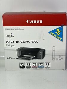 Canon multi pack Inc., PGI seven to PBK/GY/PM/PC/CO  Open box