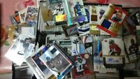 NFL FOOTBALL DUTCH AUCTION LOT 15 CARD LOTS GURANTEED AUTO OR JERSEY