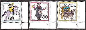 BRD 1989 Mi. Nr. 1437-1439 Formnummer 1-2 Postfrisch LUXUS! (5092)
