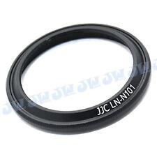 JJC Metal Lens Hood Shade for NIKON 1 Nikkor 10 mm f/2.8 Lens Replaces HN-N101