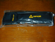 CASE Amprobe Kwik-I-E K1 Meter Faux Leather for Flashlight Tool Protective Pouch