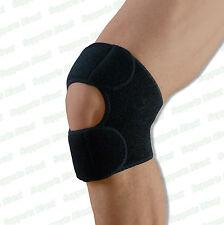 1 x doppia azione di sostegno ginocchio PATELLA TENDON controvento Cinturino Cintura Sport Dolore Sollievo