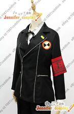 Persona 3 Minato Arisato Gekkoukan Uniform Cosplay Costume OnlyJacket + Arm-band