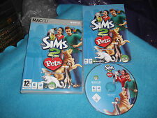 Die Sims 2 Pets Expansion Pack Apple Mac sehr schnelle Post komplett