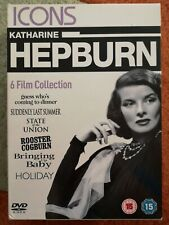 Katherine Hepburn 6 dvd box set