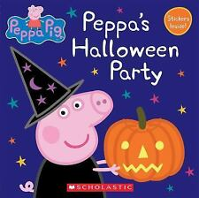 Peppa Pig Peppas Halloween Party 2016 Picture Book