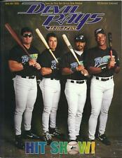 1998-1999 TAMPA BAY DEVIL RAYS CALENDAR UNUSED-A YEAR OF FIRSTS NEW