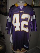 Football Jersey Vikings Nfl Jersey #42 Darrel Sharper By Reebok. Size Xlarge.