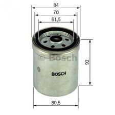 BOSCH Fuel filter 1 457 434 051