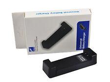 Universale Caricabatteria Per Fotocamera Sony Nikon Coolpix Samsung Canon Fuji