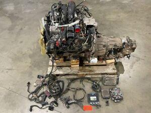 06 07 Chevrolet GMC DURAMAX 6.6 LBZ COMPLETE ENGINE MOTOR ALLISON TRANS PATROL