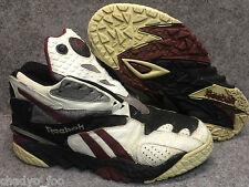VTG Reebok PreSeason Mens SZ 11 the PUMP Paydirt Scrimmage shoes maroon black