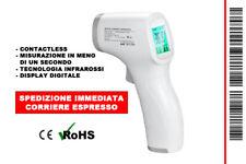 TERMOMETRO INFRAROSSI MISURAZIONE FEBBRE SENZA CONTATTO + DISPLAY DIGITALE