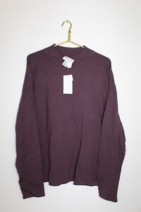 NWT~PENDLETON~Men's Big & Tall Size XLT~SILK Blend~Burgundy~Sweater~COMFORTABLE