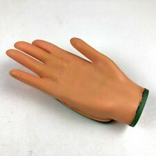 Vintage Yone Helping Hand Wind Up Hand, Gag Gift, Moving Hand, Red Nails - Works