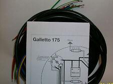 IMPIANTO ELETTRICO ELECTRICAL WIRING MOTO GUZZI GALLETTO 175 CEV
