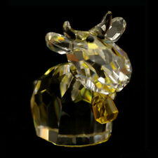 Cow Mo Calf Austrian crystal figurine ornament RRP$229