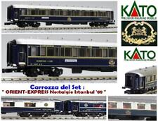 Kato -08 Ciwl Orient Express Nostalgie-Istanbul Wagon-Lits + Plaques 3487a