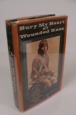Bury My Heart at Wounded Knee SIGNED by Dee Brown 1st/1st 1970 Holt Hardcover