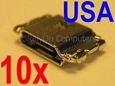 10x Lot Micro USB Charging Port For Samsung Galaxy Tab A 8.0 SM-T350 SM-T350N US